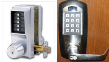 Commercial Electric Push Button Locks